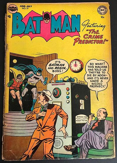 Batman (1940) #77 FR [Almost Full Split]