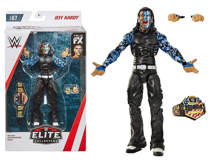 WWE Elite Collection Series 67 Jeff Hardy Wrestling Figure