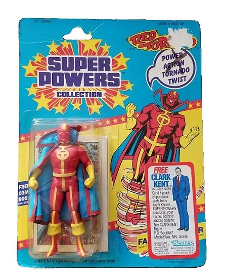 1985 Kenner Super Powers Red Torpedo