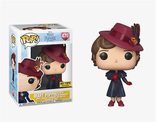 Mary Poppins Return Mary Poppins With Umbrella 470 Hot Topic Exclusive