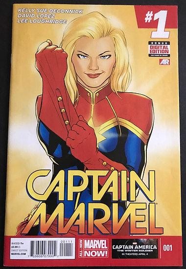Captain Marvel 1 VFNM