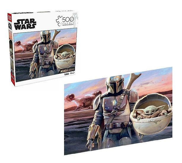 Buffalo Games Entertainment Star Wars This Is The Way 500 Pcs Jigsaw Puzzle