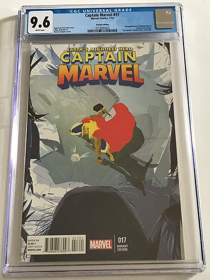 Captain Marvel (Marvel) #17 CGC 9.6 White Pages [Variant Edition]