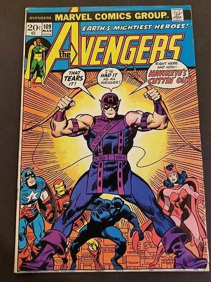 Avengers (Marvel ) #109 FN+