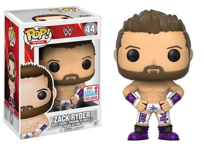 WWE Zack Ryder 44 2017 NYCC Exclusive.