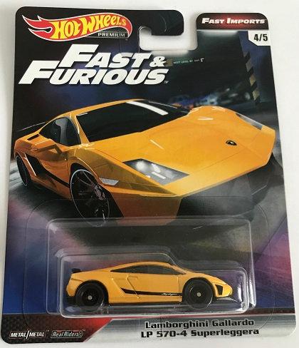 Hot Wheels Premium Fast And Furious Lamborghini Gallardo LP 570-4 Superleggera 4