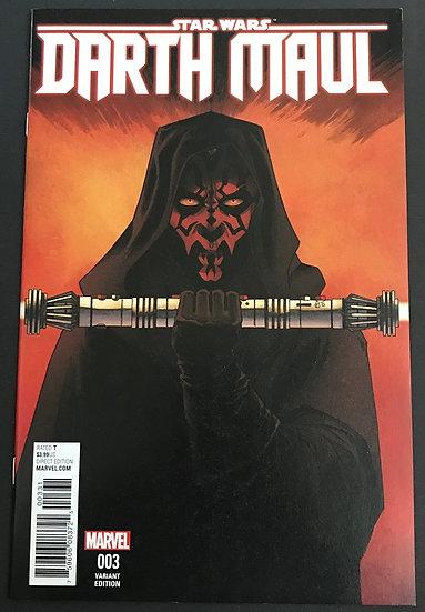 Star Wars Darth Maul (2017 Marvel) #3C NM [Variant Edition]