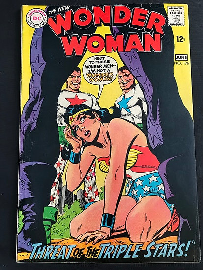 Wonder Woman (1942 1st Series DC) #176 VF-