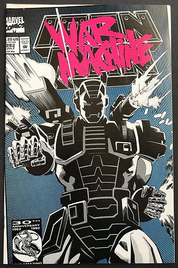 Iron Man (1968 1st Series) #282 NM error [1st War Machine]