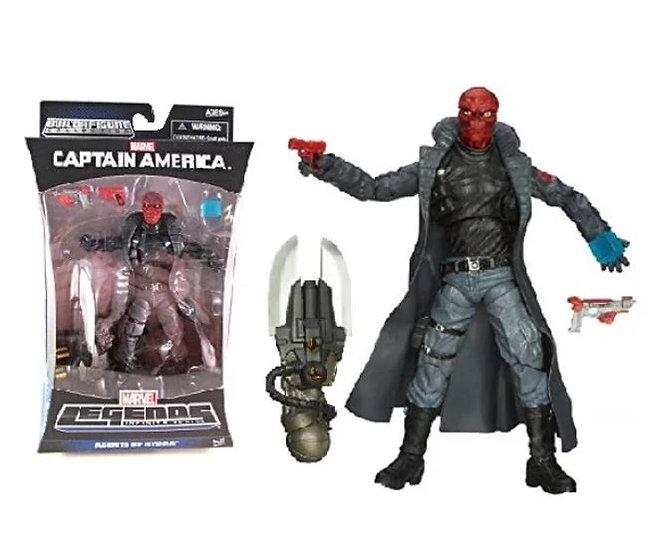 Marvel Captain America Marvel Legends Infinite Series Agents of Hydra Red Skull