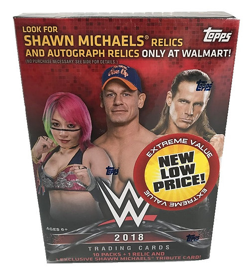2018 WWE Trading Cards Blaster Box [Walmart Exclusive]
