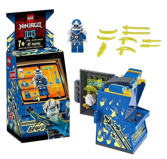 Lego Ninjango Jay Avatar Mini Arcade Machine Building Kit 71715