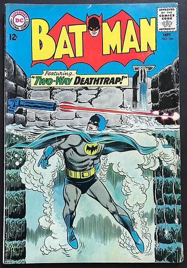 Batman (DC) #166 VG+