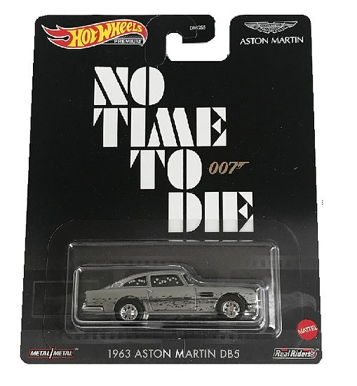 Hot Wheels Premium 007 No Time To Die 1963 Aston Martin DB5