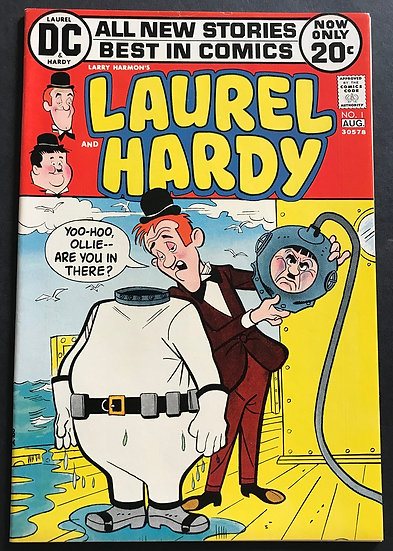 AM Archives Laurel and Hardy 1972 (2020 American Mythology) #1A NM-