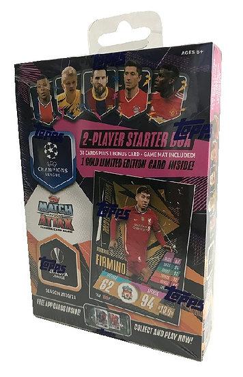 2020-21 Topps Soccer UEFA Champions League Match Attax Starter Box