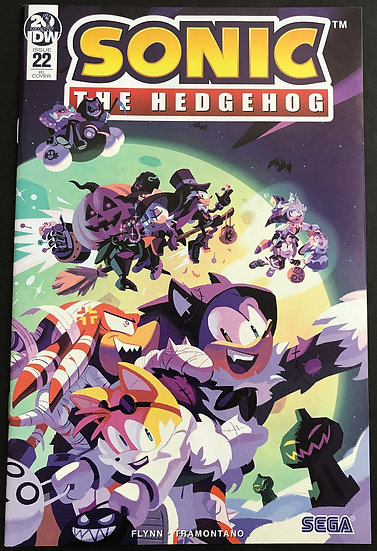 Sonic The Hedgehog (2018 IDW) #22 RI Cover NM [Retailer Incentive Variant Cover]