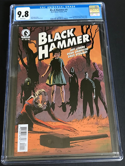 Black Hammer 1 CGC 9.8 White Pages