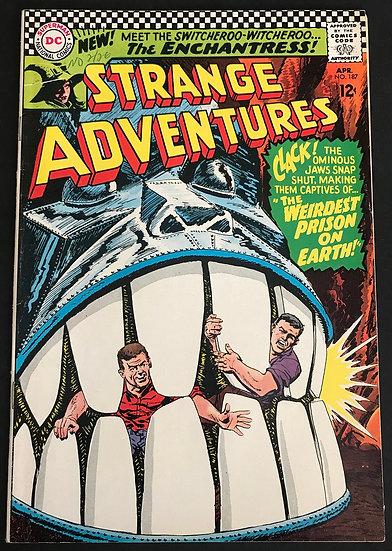 Strange Adventures (1950 1st Series) #187 FN/VF [1st Appearance of Enchantress.]