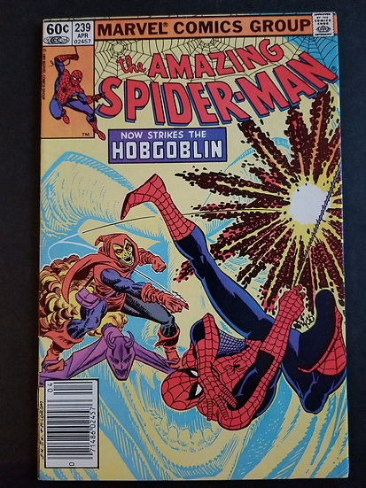 Amazing Spider-Man 239 VF. 2nd appearance Hobgoblin.