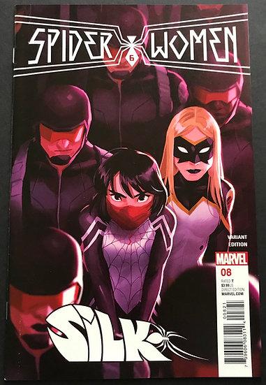 Silk (Marvel 2nd Series) #8 NM-
