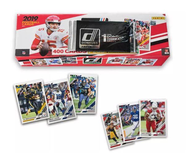 2019 NFL Donruss Football Trading Card Complete Set Plus Bonus