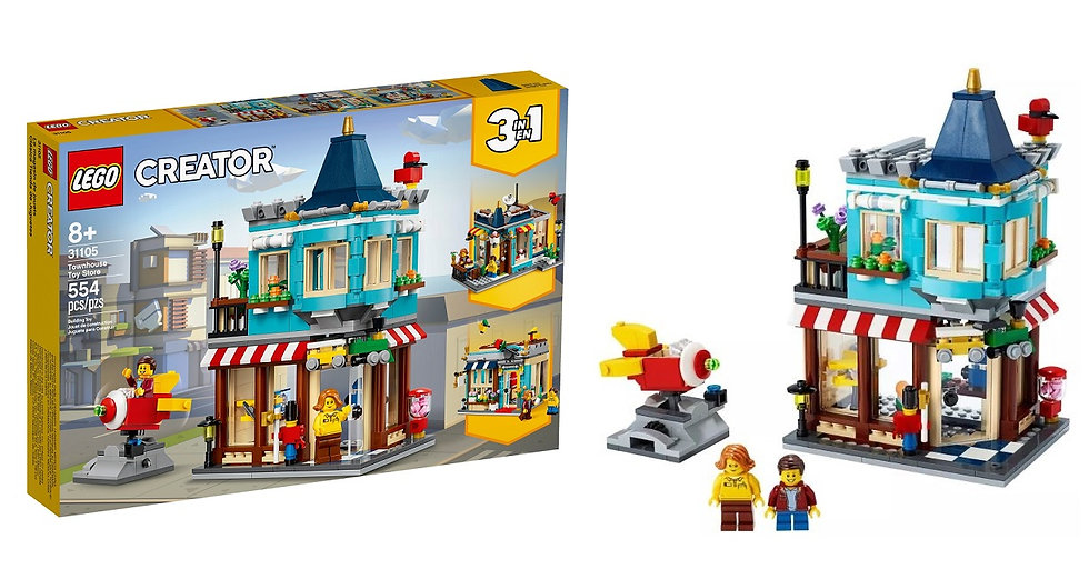 Lego Creator Townhouse Toy Store 31105 [3 in 1]