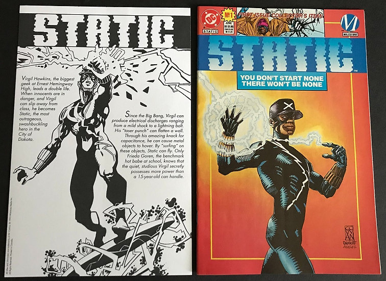 Static (DC) #1 NM-
