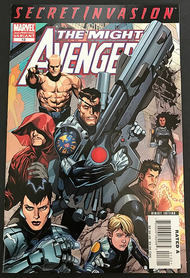 Mighty Avengers (2007) #13B NM- [2nd Print Variant]