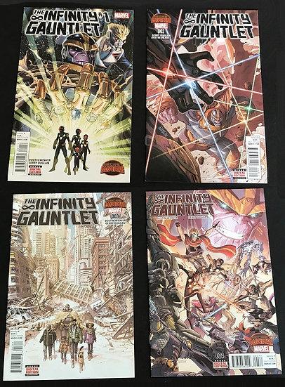 Infinity Gauntlet (Marvel 2nd Series) #1,,#2,#3,#4 Set [NM,NM,NM,VF/NM]
