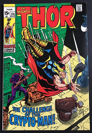 Thor (1962-1996 1st Series Journey Into Mystery) #174 NM-