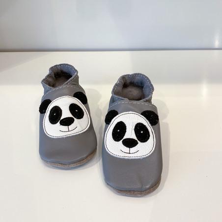 Inch Blue Krabbelschuh Panda