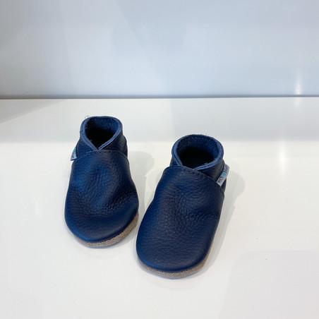Inch Blue Krabbelschuh Blau