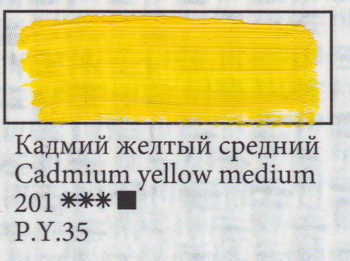 Cadmium Yellow Medium, art.201