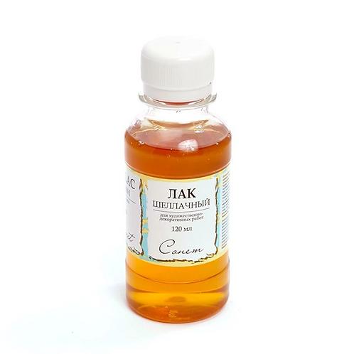 Shellac varnish, 120 ml.