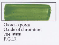 Oxide of Chromium, art.704