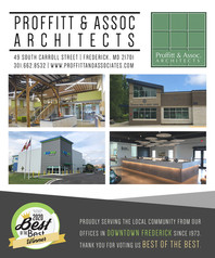 PAA NAMED BEST ARCHITECTURAL FIRM IN FREDERICK NEWS POST