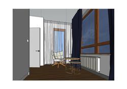 pokój dla gości_wizualizacja