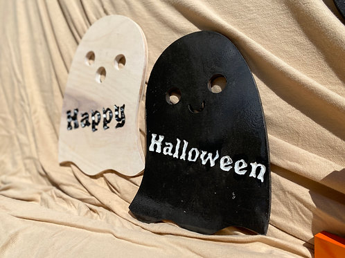 "2 Ghosts ""Happy Halloween"""
