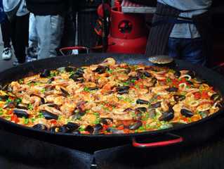 What is paella made of?