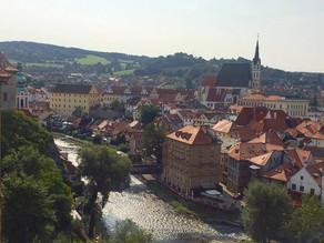 Cesky Krumlov, a day trip from Prague