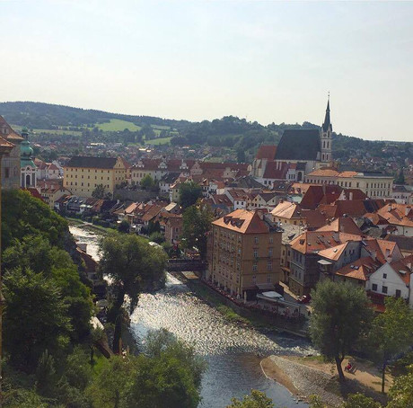 Cesky Krumlov, a day trip from Prague