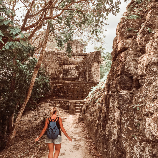One Way Journey Tikal, Guatemala