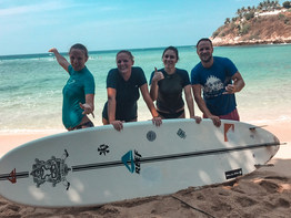 Learn to surf in Mexico