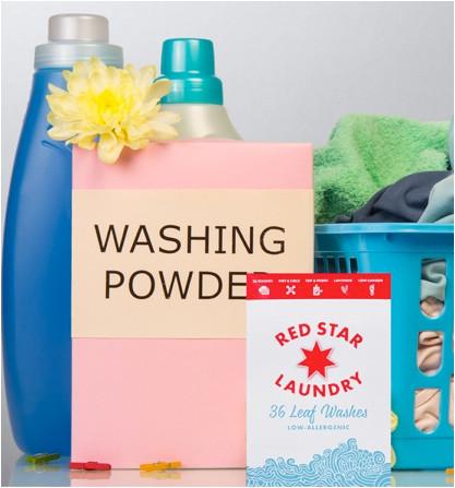 Washing powder for sensitive skin