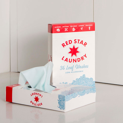 Red Star Leaf Wash Twin Pack