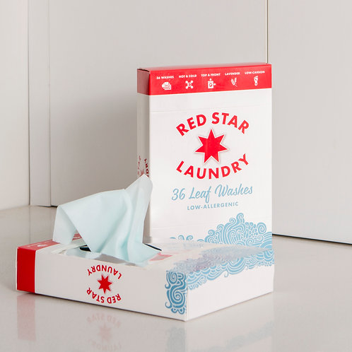 Twin Pack Red Star Laundry Leaf Wash