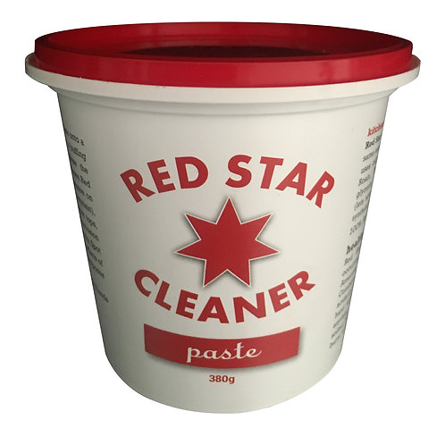 2X Red Star Paste Cleaner 380gm