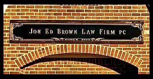 Jon Ed Brown Law Sign.PNG