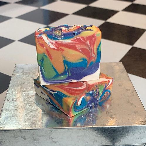Rainbow Lollipop Soap